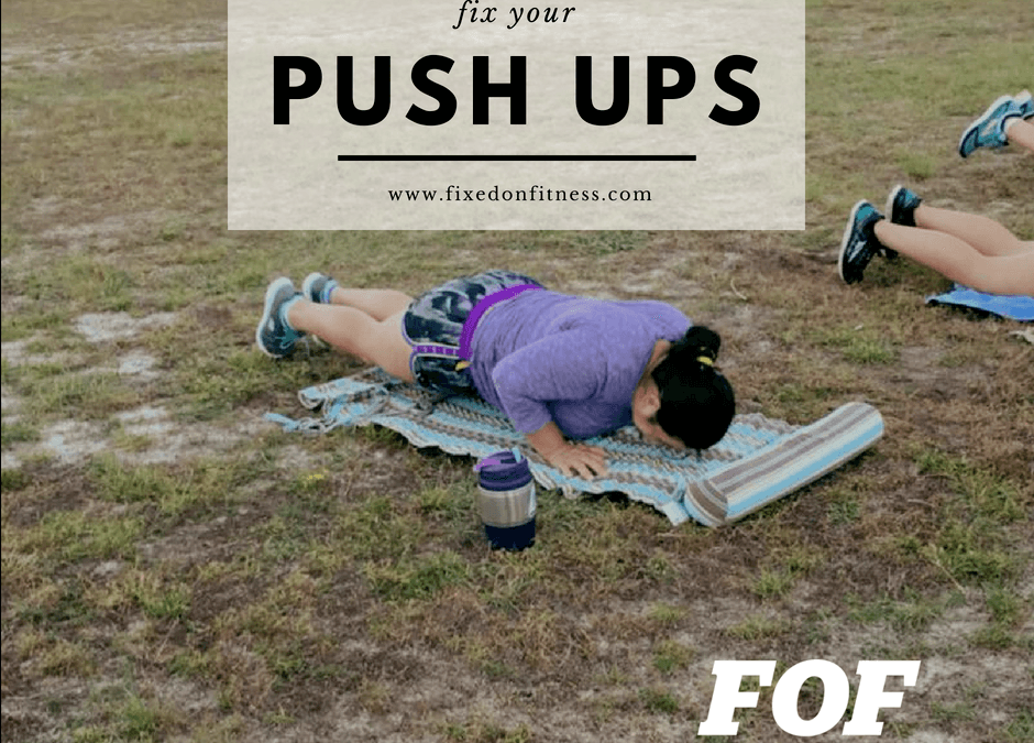 Push Ups – Common Mistakes to Avoid