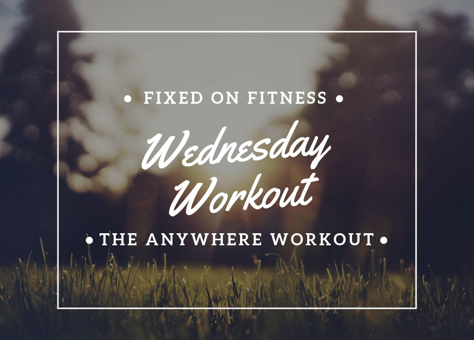 "The FOF ""Anywhere Workout""…No Equipment Required"