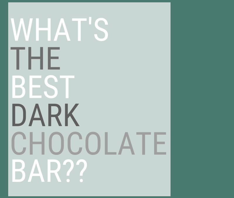 The Best Dark Chocolate Bar – Our Favorite