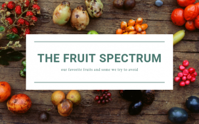 The Fruit Spectrum: Our Favorite Fruits