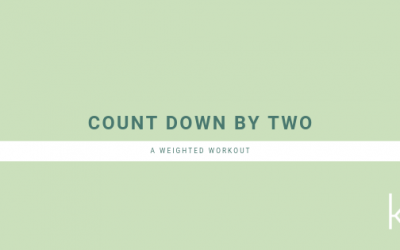 Weighted Workout: Count Down By Two