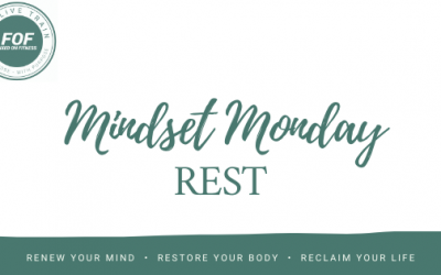 Never underestimate the benefits of rest.