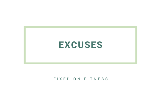 Are you busy making excuses?